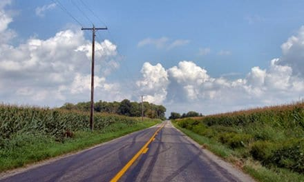 Journey Alongside a Minor Highway by David Pring-Mill