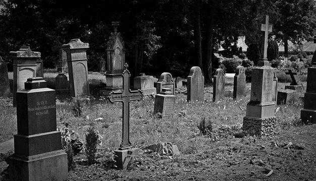 Cemetery by Richard Luftig