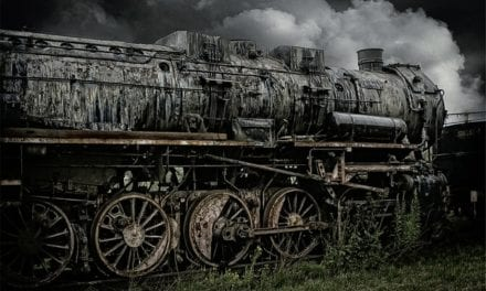 The Old Train by Joseph J. Kozma